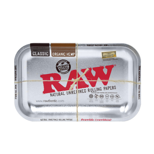 RAW Metal Rolling Tray Canada Metallic