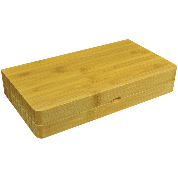 Bamboo Rolling Storage Tray RAW