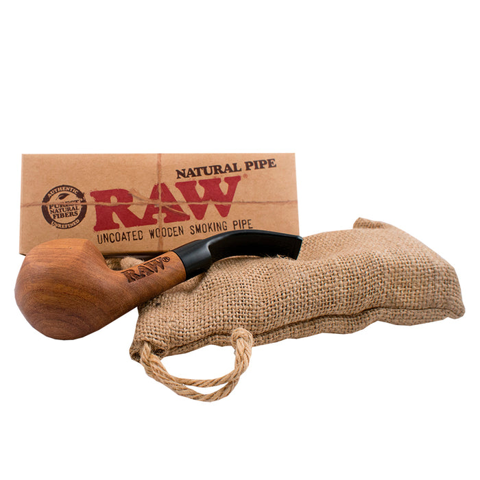 RAW Wooden Bubinga Pipe
