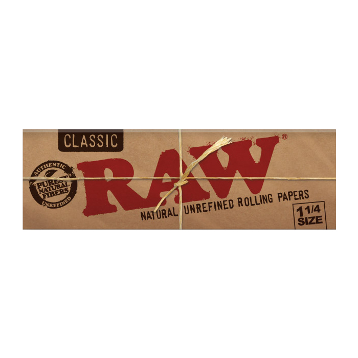 Classic RAW Rolling Papers 1.25 1-1/4 Canada Head Candy