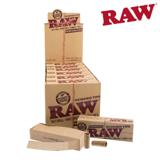 RAW Gummed and Perforated Tips