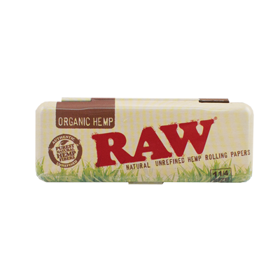 RAW organic rolling paper case