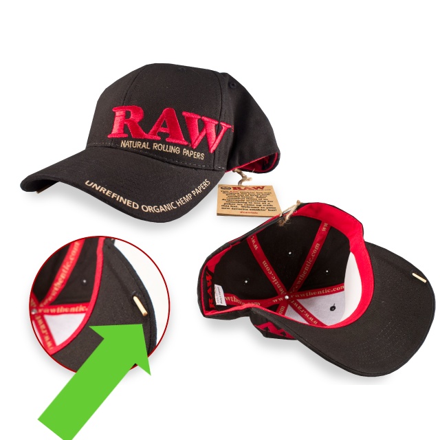 RAW Poker Hat 5 panel