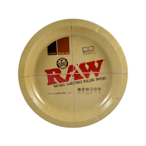 RAW Rolling Trays Canada Round Metal