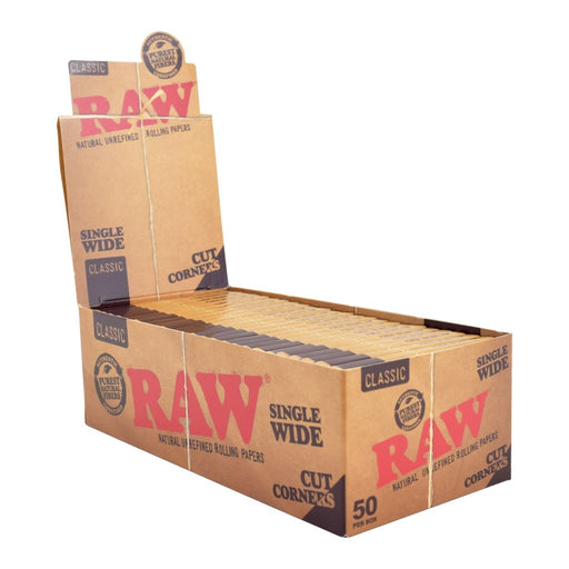 RAW Single Wide Cut Corners Canada