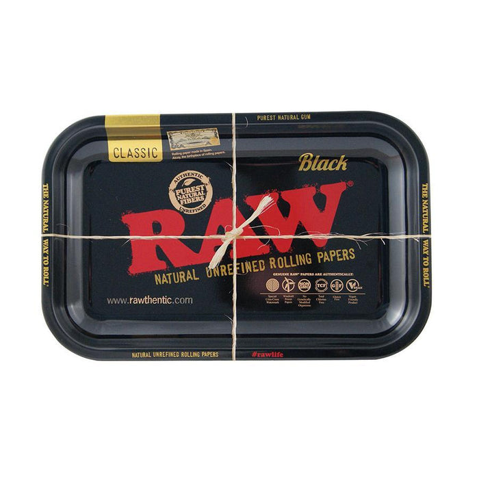 RAW Black Rolling Tray Small Canada