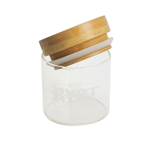 RYOT Glass Jar with Bamboo Tray Lid