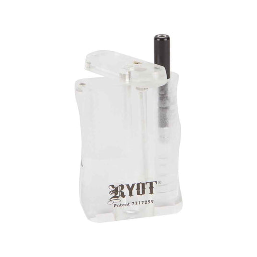 Small RYOT Clear Acrylic Dugout and Bat