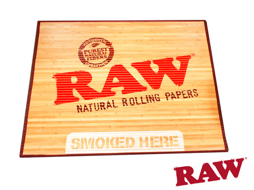 RAW Smoked Here Door Mat