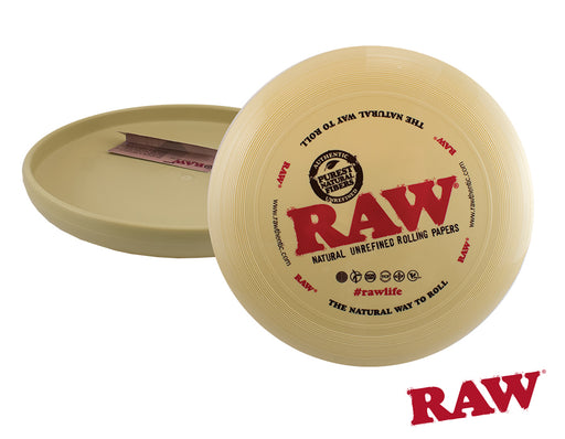 RAW Flying Rolling Tray Frisbee