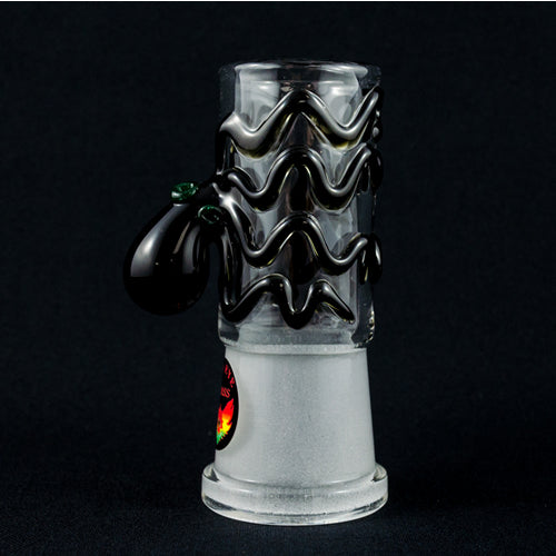 Cool domes for dab rigs black octopus red eye glass