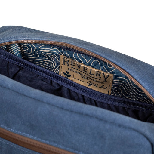 Revelry Stowaway Carbon Lined Toiletry Bag Canada