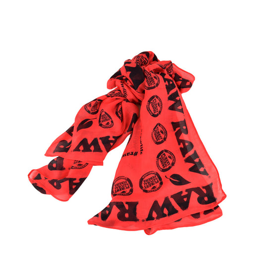 RAW Red High Fashion Scarf Canada