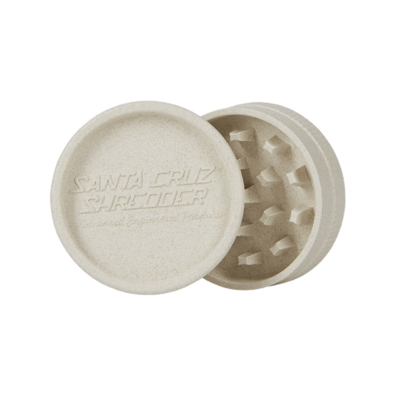 1 100/% Hemp Plastic 3 Piece Magnetic Grinder with Screen 100/% Biodegradable