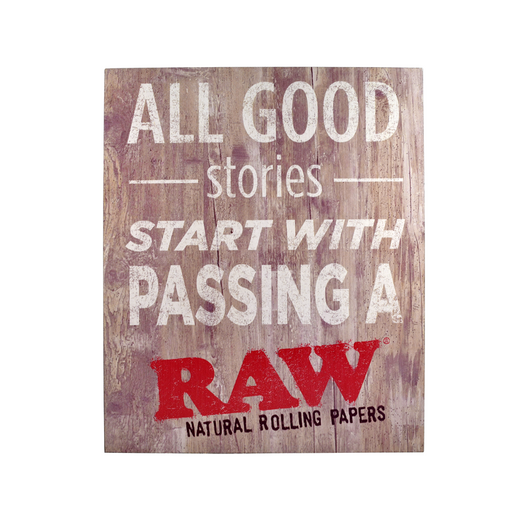 All Good Stories Start with Passing a RAW Canada