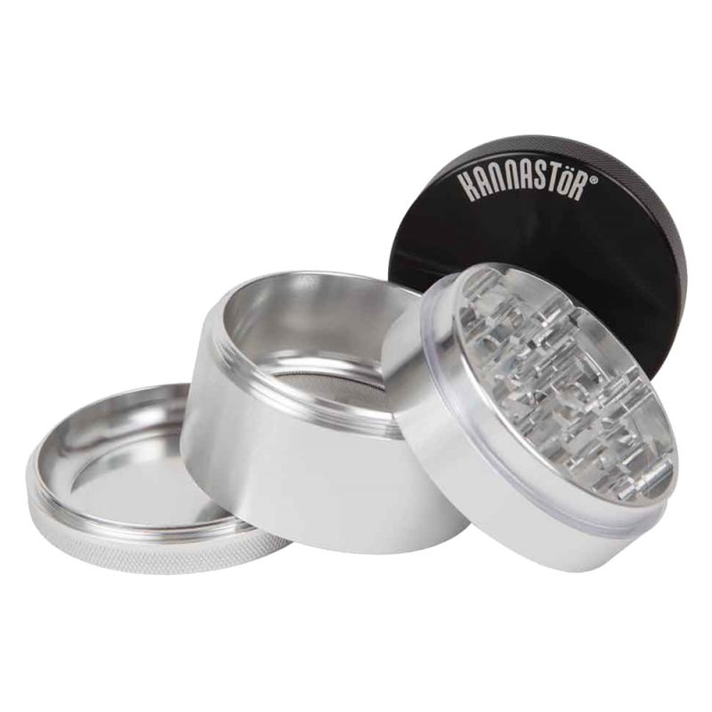 SK-M4-22 Kannastor Solid Top Solid Body 4 Piece Grinder