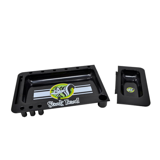 Skunk Brand Black Rolling Tray with Cover Canada