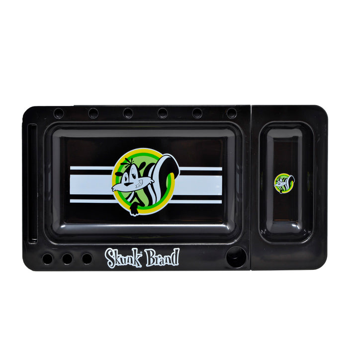 Skunk Brand Black Translucent Rolling Tray Canada