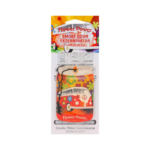 Flower Power Smoke Odor Exterminator Car Air Freshener Canada
