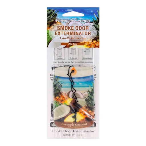 Pineapple Coconut Air Freshener for the Car Smoke Odor Exterminator Canada