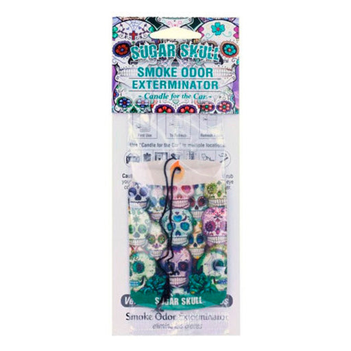 Sugar Skull Air Freshener for the Car Smoke Odor Exterminator Canada