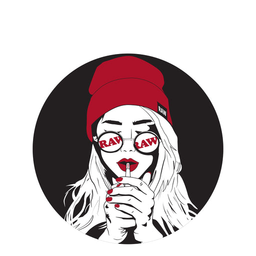 RAW Girl Sticker