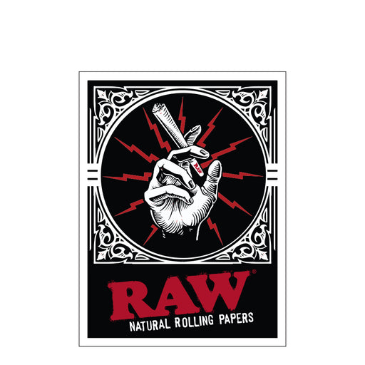 RAW Cone in Hand Stickers