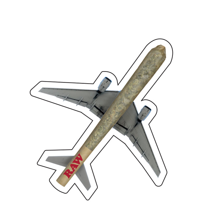 RAW Air Plane Stickers