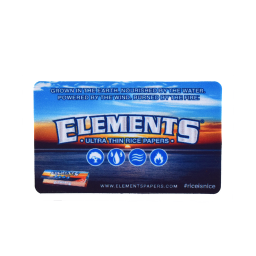 Elements Rolling Papers Sticker