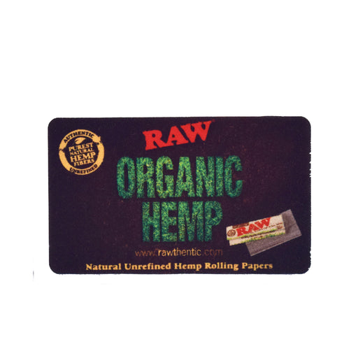 RAW Organic Hemp Removable Sticker