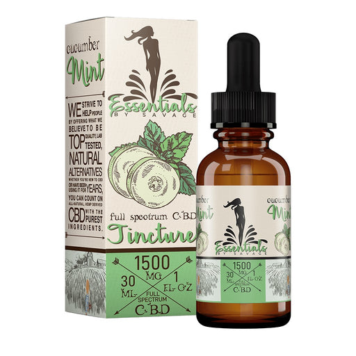 Savage CBD Cucumber Mint Tincture Canada