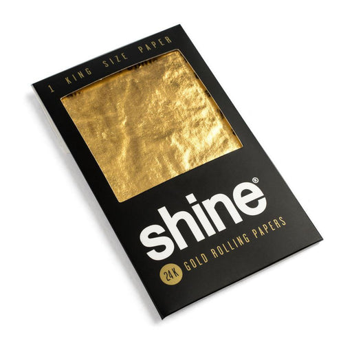 Shine 24K Gold Rolling Papers Canada King Size
