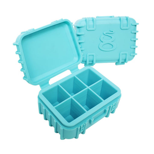 Teal Silicone Storage Case Canada