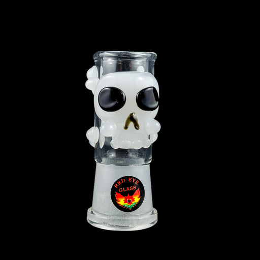 Red Eye Glass Skull Dome for Dabrig