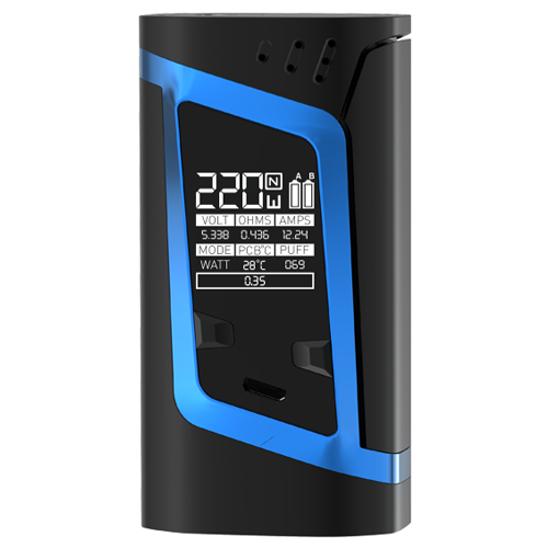 Smok Alien Black Blue Mod