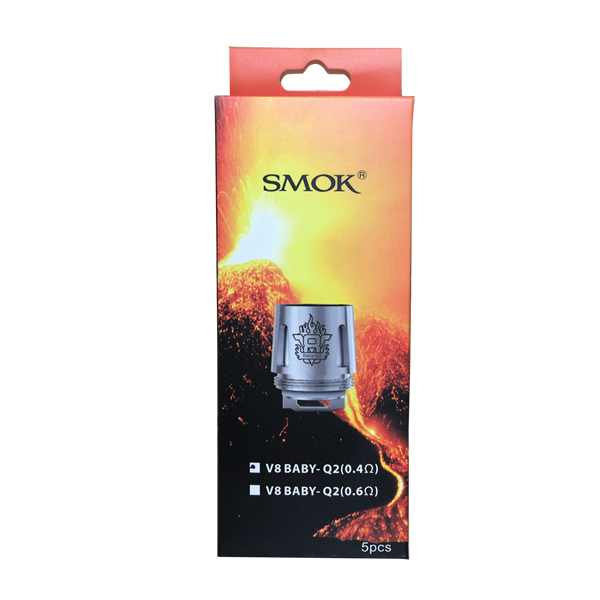 Smok Baby Q2 Replacement Coils 0.4 ohm TFV8