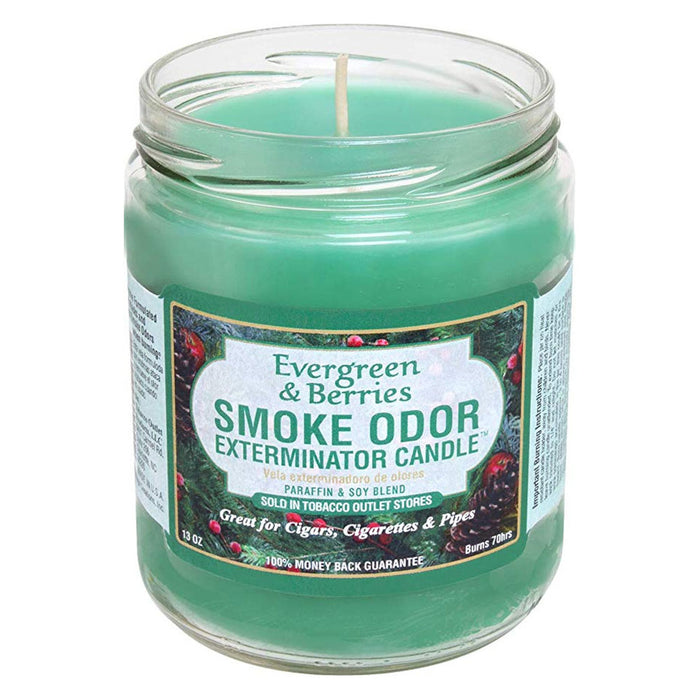 Evergreen and Berries Smoke Odor Candle Canada