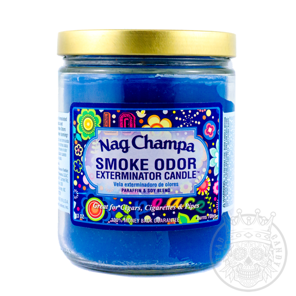 Nag Champa Candle Smoke Odor Eliminator