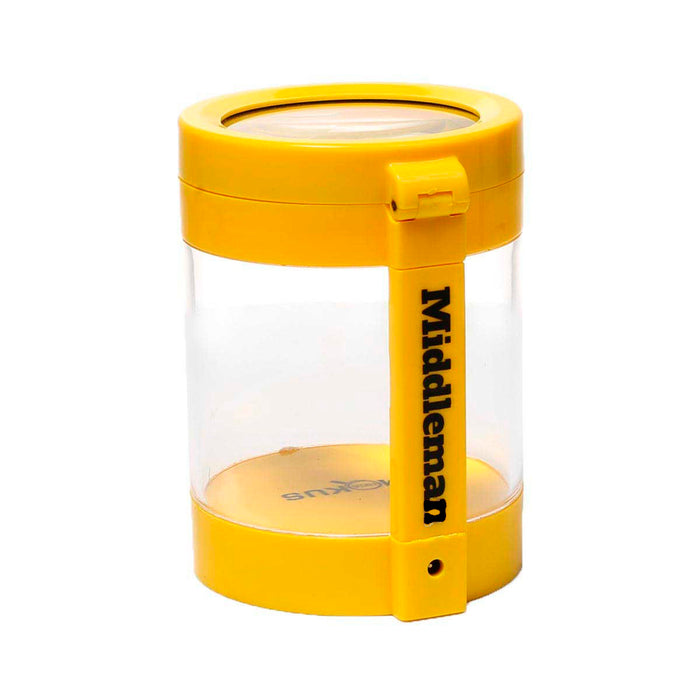 Smokus Focus Canada Yellow Middleman LED Jar