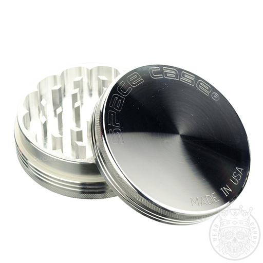 Space Case Titanium Grinder Stainless Steel 2 piece