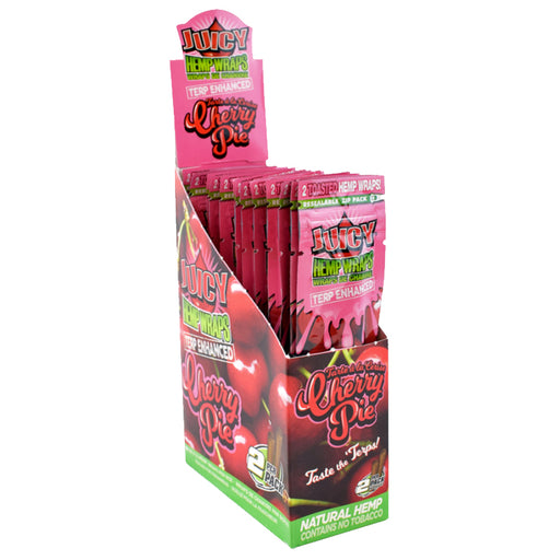 Juicy Jays Cherry Pie Terp Enhanced Hemp Wraps Canada