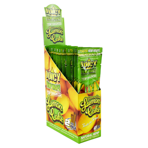 Juicy Jays Lemon Cake Terp Enhanced Hemp Wraps Canada