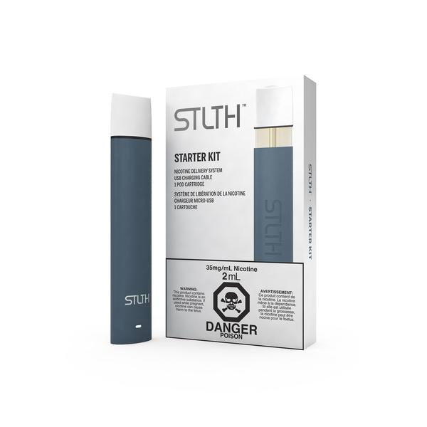 Navy STLTH Starter Kit Nic Salt Pod E-cig Canada