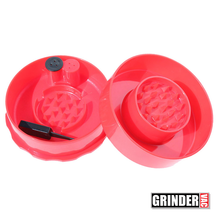 Open Tightvac Grinder Vac Red
