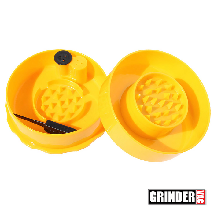 Open Tightvac Grinder Vac Yellow