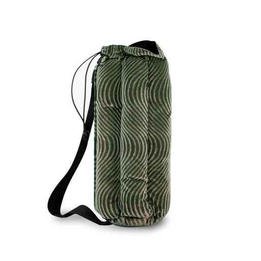 Grey Green Velvet Vatra Tube Bong Bag