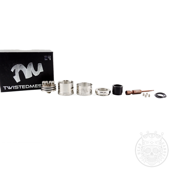 Twisted Messes 24mm TM24 RDA Parts