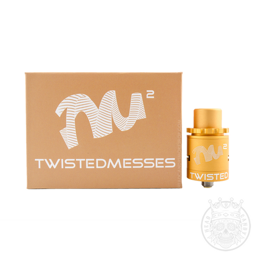 Twisted Messes2 Matte Yellow RDA