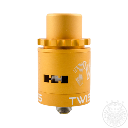 Twisted Messes Squared RDA Matte Yellow
