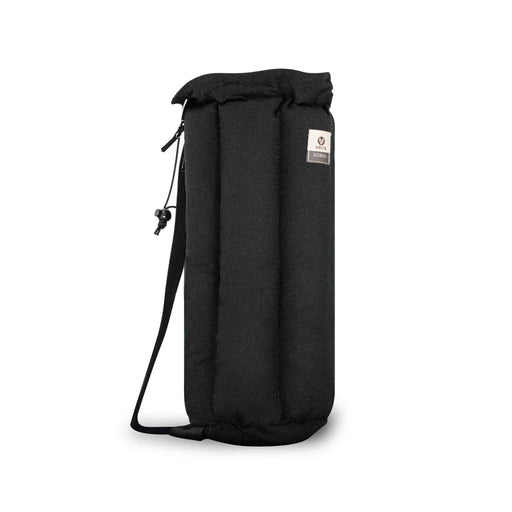 "Vatra Padded Tube Travel Bag Black Hemp 14"" Water Pipes"